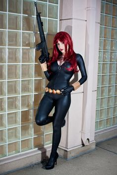 Black Widow - Crystal Graziano - Sexy Cosplayers