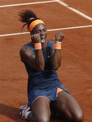 Serena Williams beats Sharapova in French final