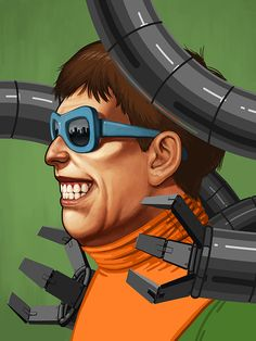 Doctor Octopus by Mike Mitchell