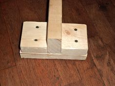 Mama Of Many Blessings: DIY Balance Beam {@Susan Caron Knox, ask dad to make one for Hails but with the beam flat so it's wider. K? Thanks!}