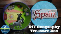 Geography Treasure Box--Encourage your child to create a keepsake box after visiting someplace special.  #CampPBSParents