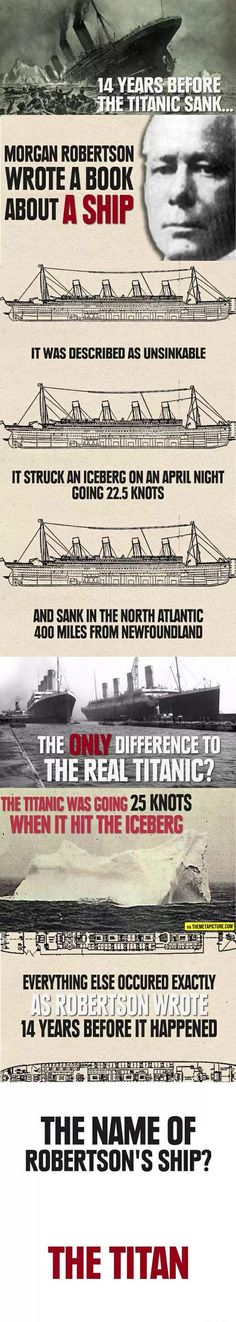 Wow, interesting, ~ Titanic mystery…