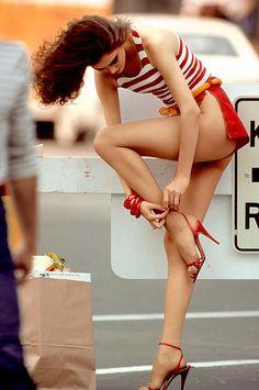 shoes, lean legs, long legs, car girls, sexi, red lips, girl style, beauti, heels