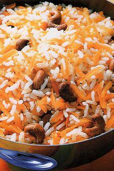 Flavors of Brazil: rice... FIFA 2014 dinner
