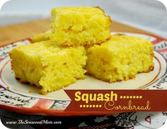 Squash Cornbread on MyRecipeMagic.com:This is THE BEST cornbread I have ever tasted. And no, you don't notice the squash. The bread is just incredibly moist, slightly sweet, and very buttery!