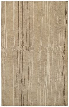 Finelines in Bamboo adds great ivory and neutral tones to a room! #CapelRugs