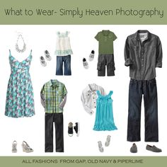 What to Wear Spring for Families