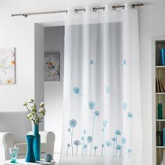 embroid floral, 240cm drop, white curtain140cm, floral white, eyelet embroid, eleg eyelet