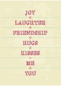 ..me + you= us ❤️xox