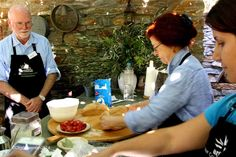 Have you ever thought about taking a culinary vacation? Check out my time in Greece thought