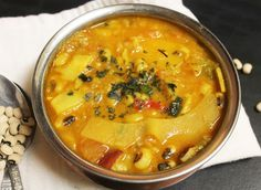 Aloo Tama Bodi (bamboo shoots with black eyed peas soup)