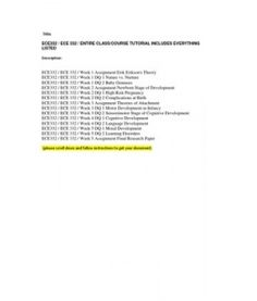ece332 paper Ece 332 week 1 assignment theory summary for more course tutorials visit wwwece332com business ece 332 week 5 final paper- ece332dotcom.