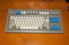 Limited Run Industrial Gray Space Saving Keyboard SSK IBM Model M Model