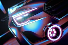 Subaru Viziv 2 Concept Teased Ahead of Geneva