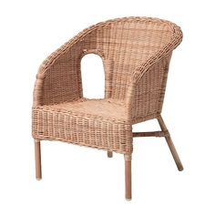 AGEN Children's armchair IKEA Stackable.  Saves space when not in use. $19.99