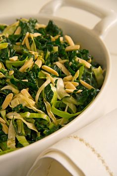 Kale Slaw with Avocado and Almonds from @Greg Henry