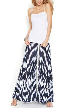What a PERFECT Skirt for Summer!  #skirt #fashion #summer #macys #redbookmag @Carolyn Booker Magazine @Elaine Young's