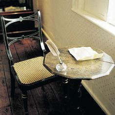 Jane Austen's writing desk.