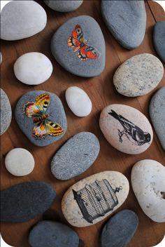 transfers on stones