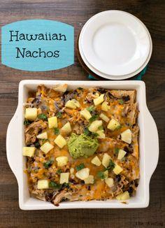 Hawaiian Nachos | http://www.ihearteating.com | #easy #dinner #recipe