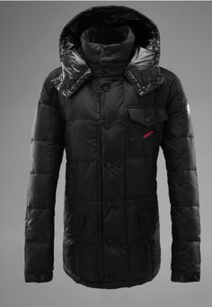 Buy Dark Green Moncler Alban Down Jacket for Men