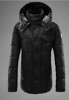 Buy Dark Green Moncler Alban Down Jacket for Men