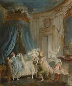 The wedding night by Pierre-Antoine Baudoüin