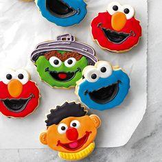 Sesame Street™ Sandwich Cookie Cutters | Williams-Sonoma