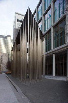 Dezeen » Blog Archive » Regent's Place Pavilion by Carmody Groarke