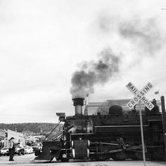 The Durango & Silverton Railroad continues to operate to this day! #amazing #history #train #southwest #colorado