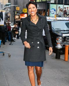 Robin Roberts from Good Morning America ..