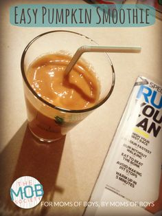 Fit + Fed: Easy Pumpkin Smoothie - The MOB Society