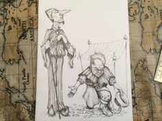 The merchants...pencil work complete