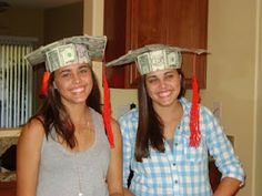 graduation gifts ~ Cute idea for money gifts!