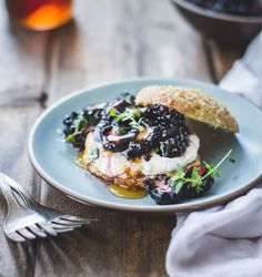 The Bojon Gourmet: Ricotta Blackberry Shortcakes with Honey and Thyme {Gluten-Free}