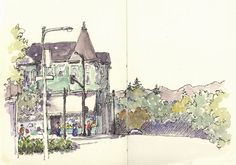 Trumpetvine Travels....How to travel sketch