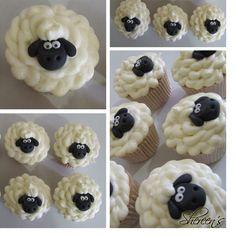 Shaun the sheep easter cupcakes :)