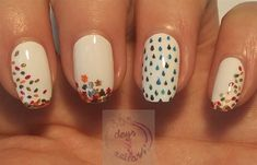 November rain by daysofnailartnl from Nail Art Gallery