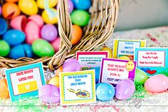 Easter Egg Bedroom Love Notes for your spouse!  Free printable!