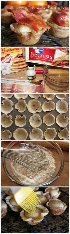These bite-sized pancake bites are breakfast nirvana!