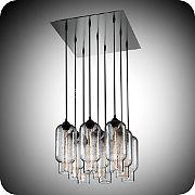 niche modern 6 pack modern chandelier