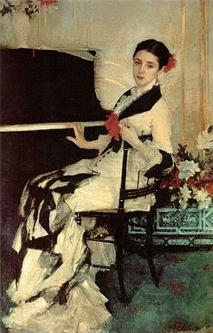 Madame Ramón Subercaseaux   by John Singer Sargent (1856-1925)