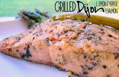 Definitely my new favorite salmon seasoning!  The dijon and lemon pepper taste so light and fresh!  @allrecipes #grill #MyAllrecipes