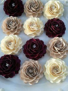 lovely handmade paper flowers