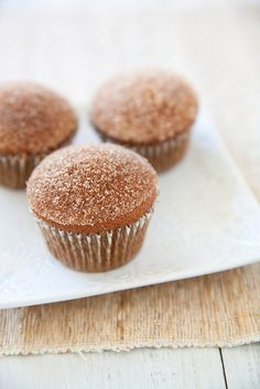 Gingerbread Doughnut Muffins | Annie's Eats
