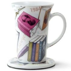 Noveltea Mug with Coaster in Tin