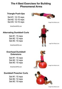 Arm workout-the ball ones