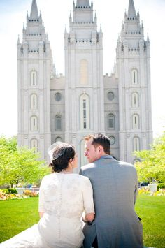 "My family created here is Forever <3 ""It Works,"" declared Pres. Sybrowsky shortly after our temple sealing."