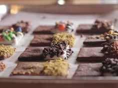 Dessert idea for a crowd: #ThePioneerWoman's Chocolate Cookies with Dipping Bar.