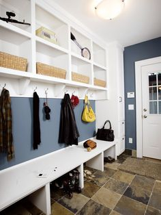 Mudroom Benches Design, Pictures, Remodel, Decor and Ideas - page 23